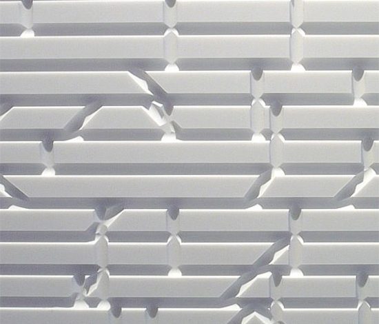 Matrix wall panel by AMOS DESIGN | Mineral composite panels