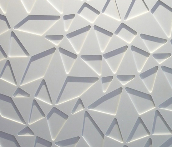 Repete wall panel by AMOS DESIGN | Mineral composite panels