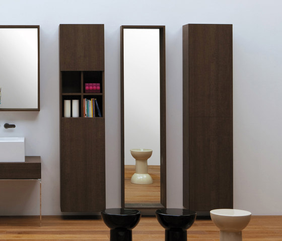 Compono System wall hung by Ceramica Flaminia | Wall cabinets