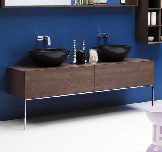 Compono System bench by Ceramica Flaminia | Vanity units