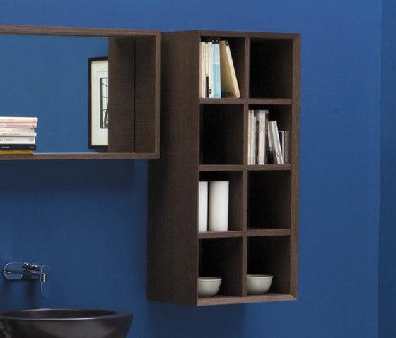 Compono System mobile di Ceramica Flaminia | Mensole bagno