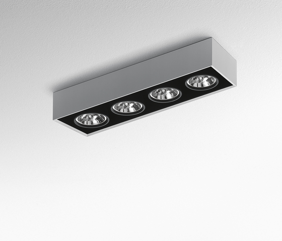 Nothing Ceiling 4 by Artemide Architectural | Ceiling-mounted spotlights