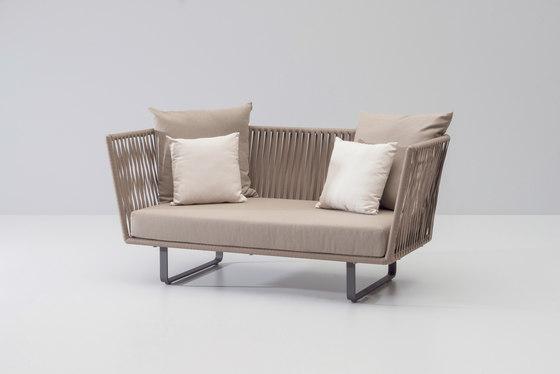 Bitta 2 seater sofa de KETTAL | Sofas de jardin