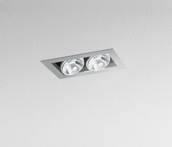 Java 180 2-Lampig von Artemide Architectural | Deckeneinbauleuchten