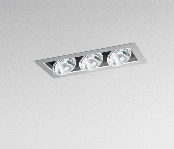 Java 180 3-Lampig von Artemide Architectural | Strahler