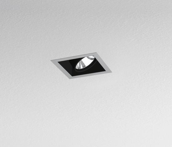 Java 208 1-Lampig quadratisch von Artemide Architectural | Deckeneinbauleuchten
