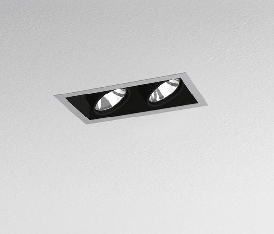 Java 208 2-Lampig von Artemide Architectural | Deckeneinbauleuchten