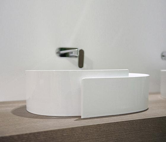 Roll di ceramica flaminia lavabo prodotto for Flaminia lavabi