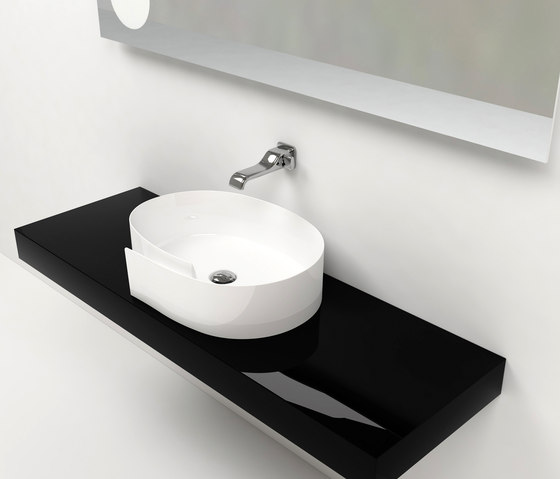 Roll basin by Ceramica Flaminia | Vanity units