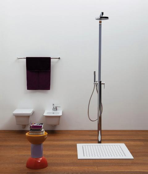 Volo mixer by Ceramica Flaminia | Shower taps / mixers