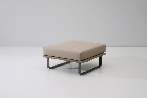 Bitta stool by KETTAL | Poufs