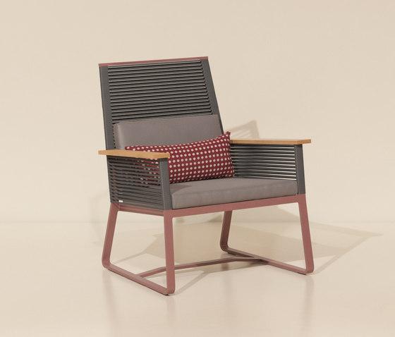Landscape club armchair teak by KETTAL | Garden armchairs