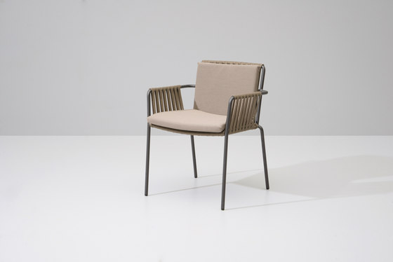Net dining chair by KETTAL | Garden chairs