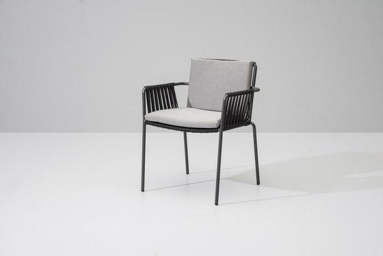 Net dining chair di KETTAL | Sedie da giardino