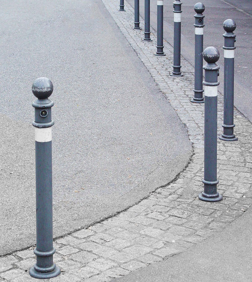 Public Bollard removable barrier post - Aarau by BURRI | Bollards