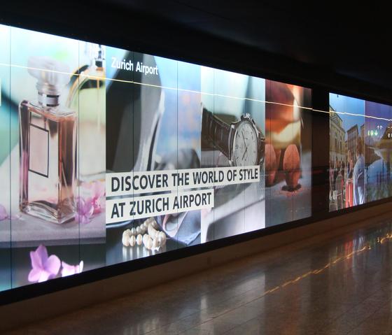 Brandingwall - Light walls by BURRI | Advertising displays
