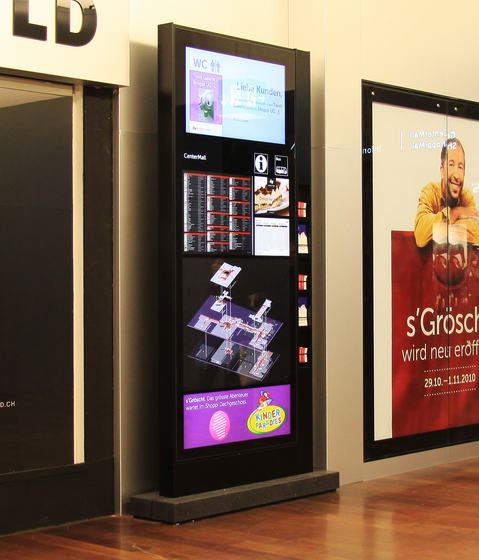 City Lights - E-Panel Monitor Systems by BURRI | Advertising displays