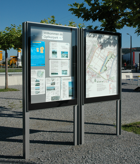 City Lights - Display Cabinets by BURRI | Advertising displays