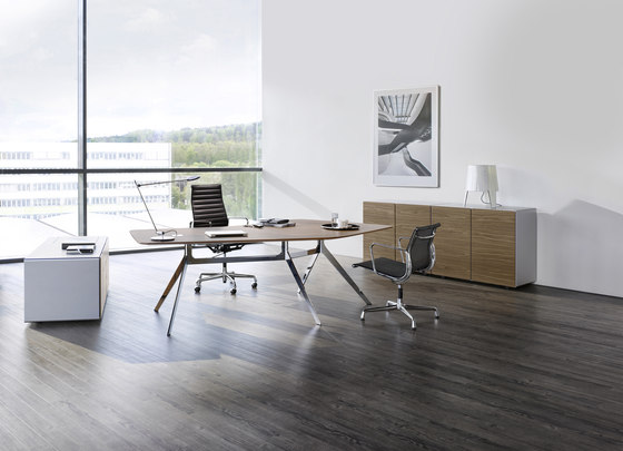 Star office table de RENZ | Bureaux de direction