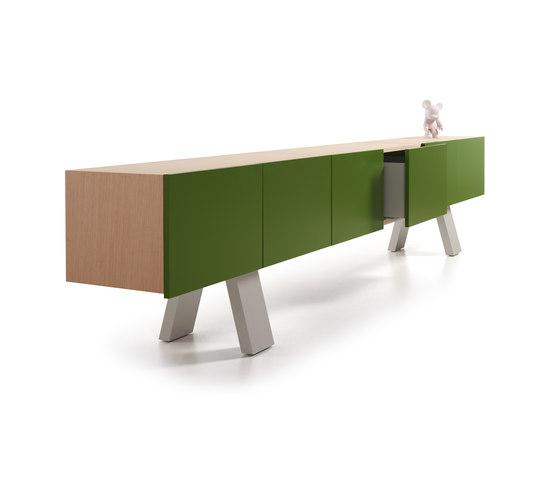 Midi Colors Cabinet A di Sistema Midi | Credenze
