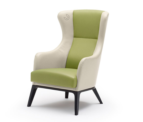 grace wing chair by Wiesner-Hager | Elderly care armchairs
