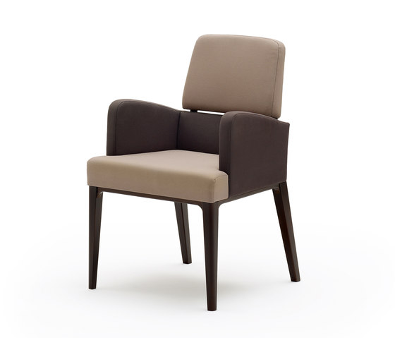 grace softchair with armrests by Wiesner-Hager | Elderly care chairs