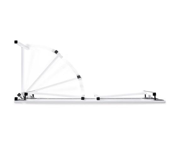 n.f.t. Klapptisch rechteckig - T-Fuß-Gestell de Wiesner-Hager | Mesas multiusos