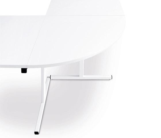 n.f.t. Klapptisch rechteckig - T-Fuß-Gestell by Wiesner-Hager | Multipurpose tables