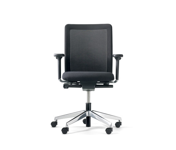 paro plus net Drehstuhl mit Multifunktions- Armlehnen by Wiesner-Hager | Task chairs