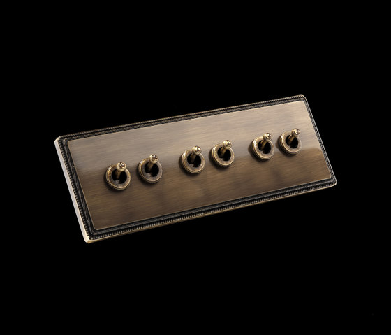 1950 3xdouble switch by Font Barcelona | Toggle switches