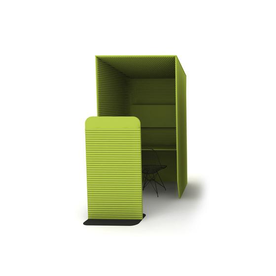 BuzziBooth de BuzziSpace | Hotdesking / temporary workspaces