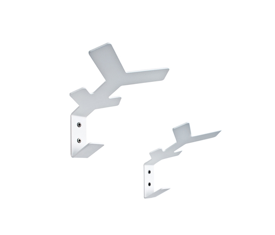 Flake wall hooks by Cascando | Built-in wardrobes