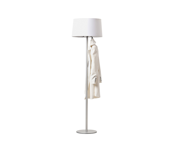 Coat stand & lamp by Cascando | Freestanding wardrobes
