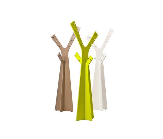 Tree coat stand by Cascando | Freestanding wardrobes