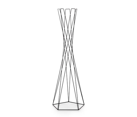 Basket coat stand by Cascando | Freestanding wardrobes