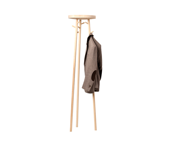 Twist coat stand by Cascando | Freestanding wardrobes