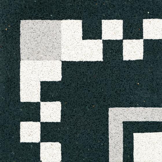 Terrazzoplatte von VIA | Bodenfliesen