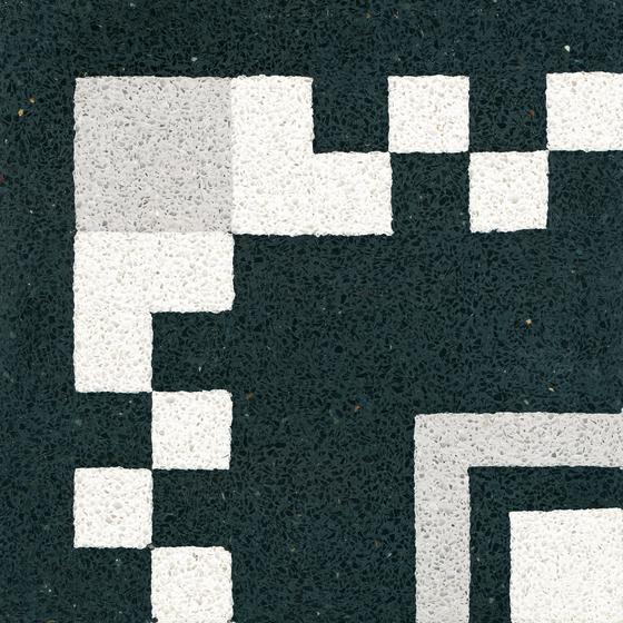 Terrazzo tile by VIA   Concrete/cement flooring