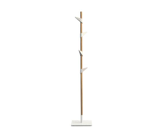 Porte-manteaux Bamboo 1 de Cascando | Portemanteaux sur pied