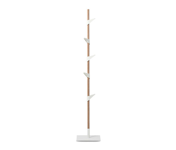 Bamboo Steel coat stand by Cascando | Freestanding wardrobes
