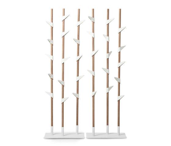 Bamboo 1 coat stand di Cascando | Appendiabiti