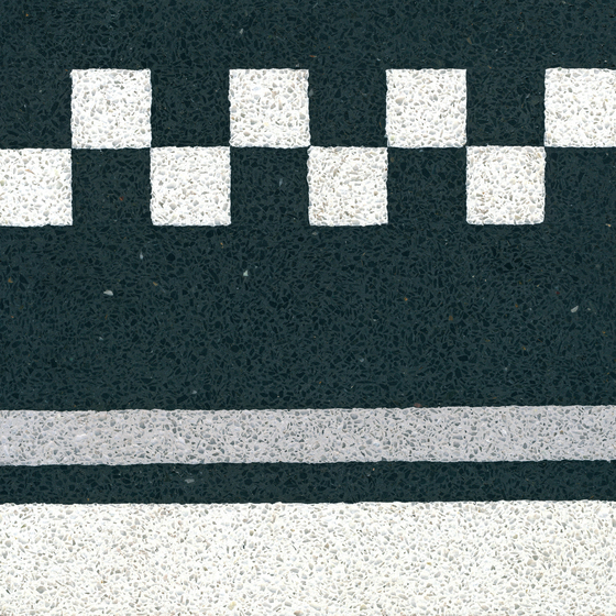 Terrazzo edge tile by VIA | Concrete/cement flooring