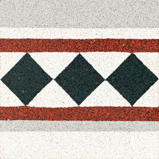 Terrazzo edge tile by VIA | Concrete/cement flooring