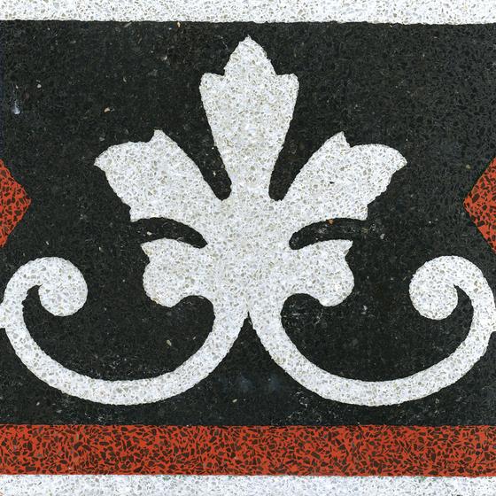 Terrazzo edge tile di VIA | Piastrelle