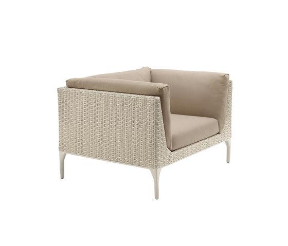 MU Lounge chair by DEDON | Garden armchairs