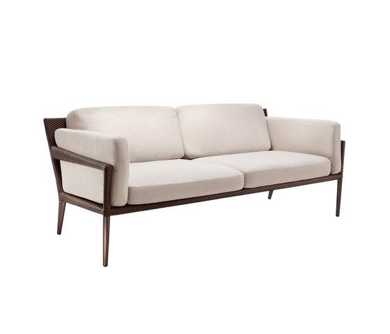 Tribeca 3 seater by DEDON | Garden sofas