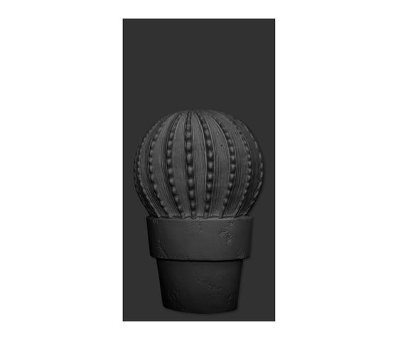 Cactus-B Negro Mate de VIVES Cerámica | Carrelage