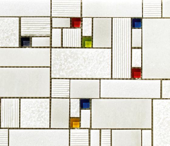 Mosaico Taki Blanco by VIVES Cerámica | Mosaics