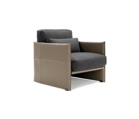 Luggage by Minotti | Lounge chairs