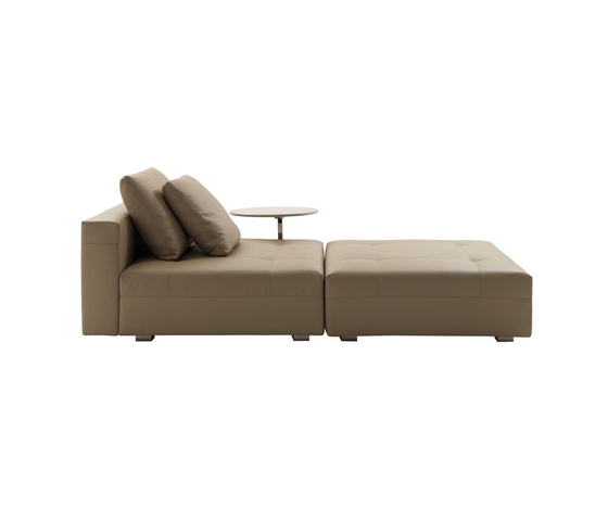 Wearing Button down Chaise Longue * by Minotti | Chaise longues